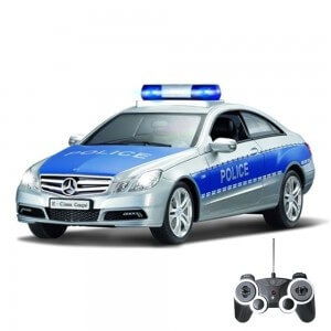 Mercedes Benzn E350 Coupe Polizeiauto