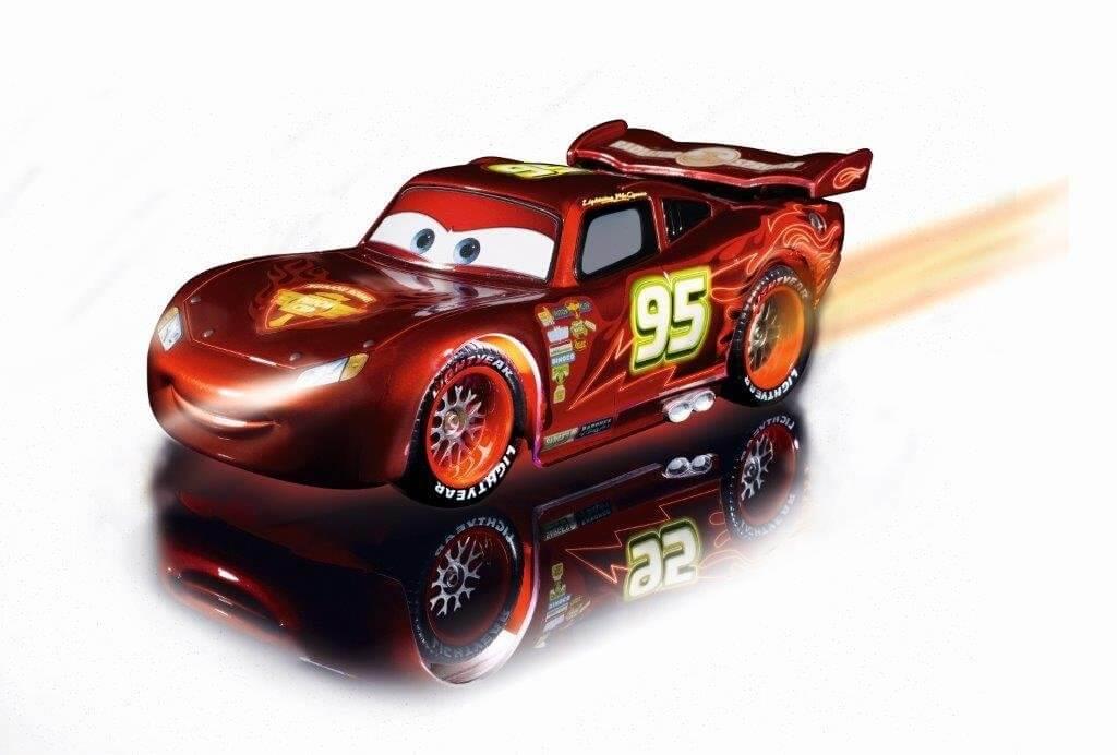 Dickie Neon Lightning McQueen