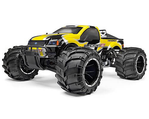 LRP Maverick Blackout MT Monstertruck