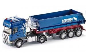 Siku – Scania LKW mit Muldenkipper