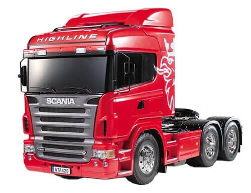 Scania R620 Highline Bausatz 1:14 von Tamiya