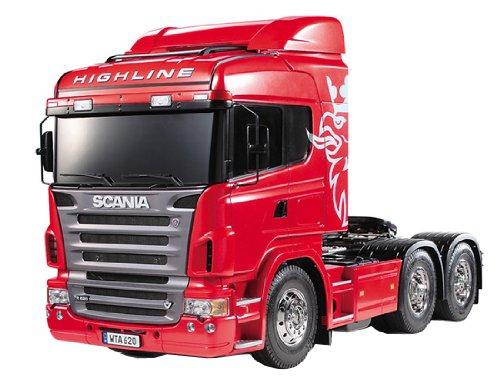Scania R620 Highline Bausatz 1:14 von Tamiya, rot