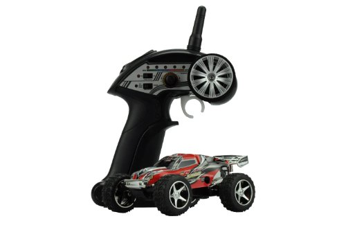 Amewi Mini Truggy Running Dog Turbo in rot