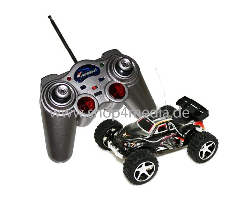 Amewi Mini Truggy Running Dog Turbo in schwarz